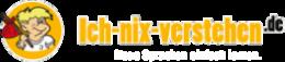 Ich Nix Verstehen Logo