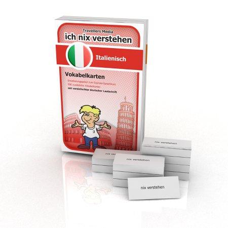 Italienisch Vokabelkarten