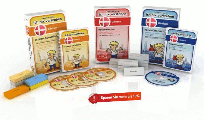 Dänische Sprache Komplettpaket
