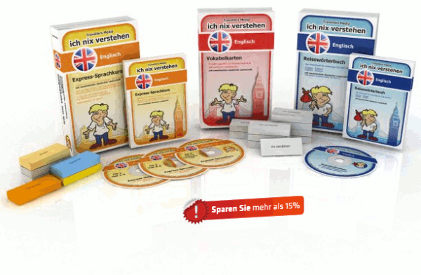 Englische Sprache Komplettpaket