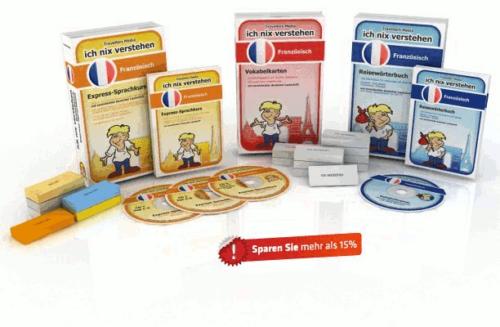 Französische Sprache Komplettpaket