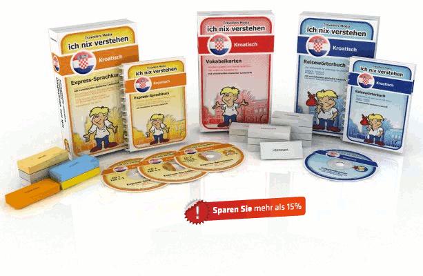 Kroatische Sprache Komplettpaket