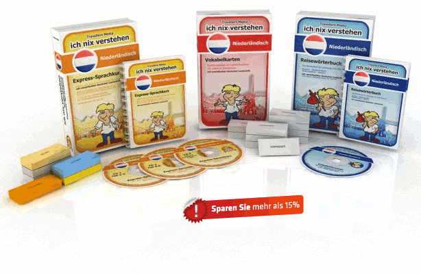Niederländische Sprache Komplettpaket