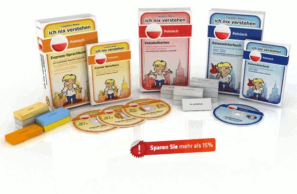 Polnische Sprache Komplettpaket