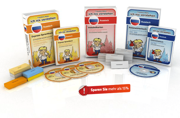 Russische Sprache Komplettpaket