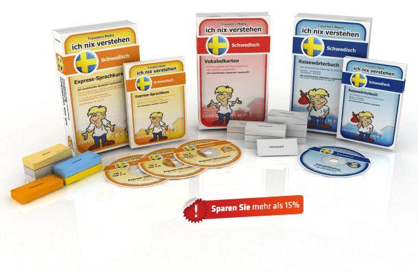 Schwedische Sprache Komplettpaket