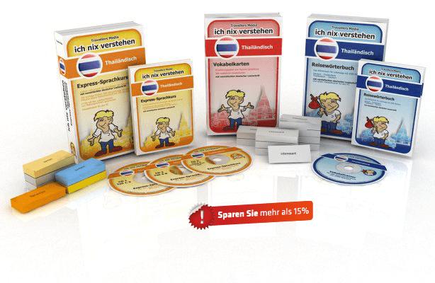 Thailändische Sprache Komplettpaket