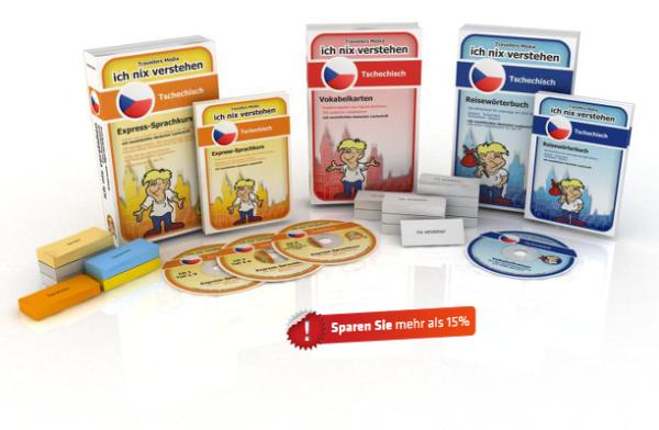 Tschechische Sprache Komplettpaket
