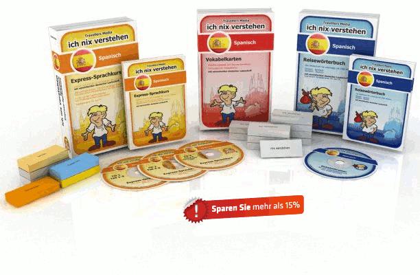 Spanische Sprache Komplettpaket