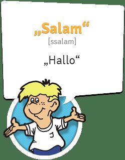 Aserbaidschanisch lernen | Begrüßung Aserbaidschanisch | Hallo - Salam