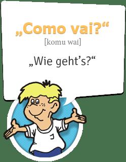 Brasilianisch lernen | Wie geht`s!