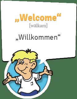 Englisch lernen | Willkommen