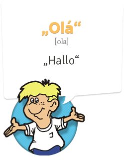 Portugiesisch lernen | Begrüßung Portugiesisch | Hallo - Ola