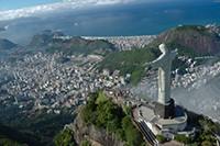 Brasilien Urlaub - Christusstatue auf dem Corcovado