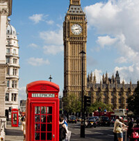 England Urlaub