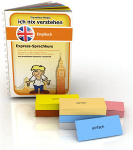 Sprachen lernen Buch & Vokabelkarten