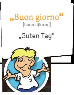 Italienisch lernen | Guten Tag - Buon giorno