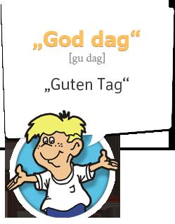 Norwegisch lernen | Begrüßung Norwegisch | Guten Tag - God dag